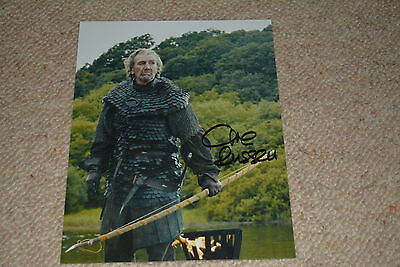 CLIVE RUSSELL signed Autogramm 20x25 cm In Person GAME OF THRONES