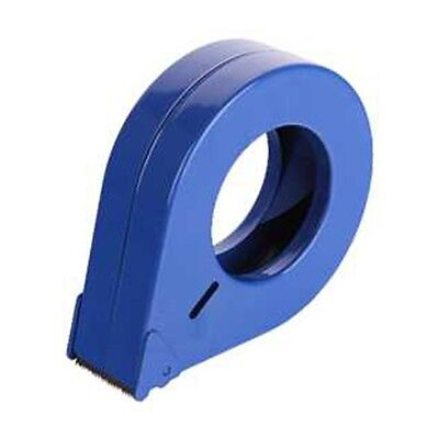 Tape Dispenser Tear Drop Solid Metal Blue 50mm