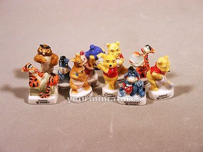 Porcelain Miniatures Disney Licensed Winnie the Pooh French Feves