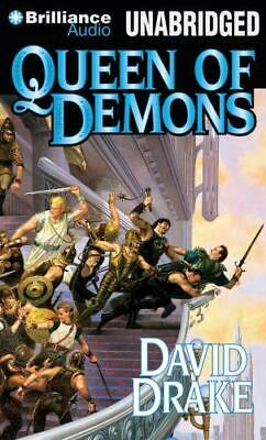 QUEEN OF DEMONS unabridged audio book on CD by DAVID DRAKE - 18 CDs / 22 Hours