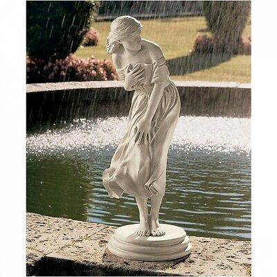 Design Toscano Windblown Statue. Delivery is Free