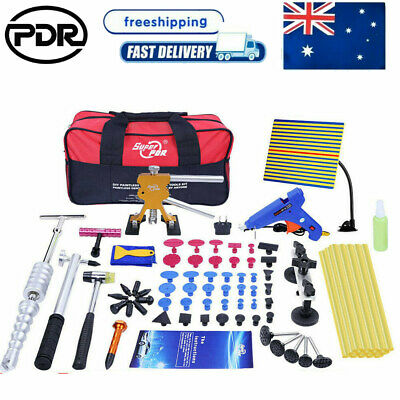 PDR Tools Dent Puller Lifter Paintless Hail Removal Kits Slide Hammer Body 79pc