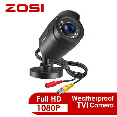 ZOSI HD 1080p 4in1 Outdoor Bullet CCTV Home Security Surveillance Camera IR Cut