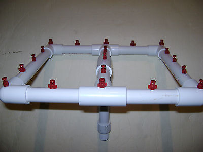NEW Aeroponic Hydroponic Spray Sprayers Manifold Growing EZ Clone Cloning System
