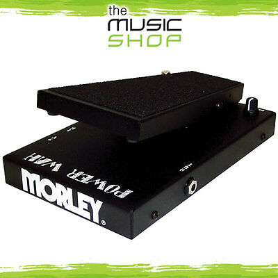 New Morley PWO Power Wah Pedal - Vintage Tone with Modern Features