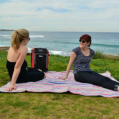 Coleman Extra Large Picnic Blanket with PVC Backing - 210 x 210cm