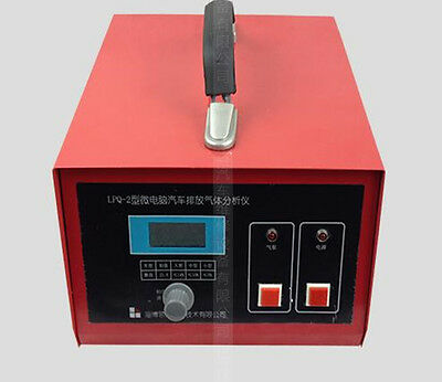 Vehicle Emission Gas Analyzer Tail Gas Analyzer Detect Oxygen Content LPQ-2