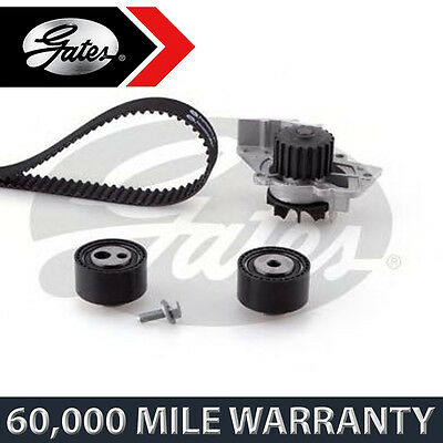 For Peugeot 406 2.0 Diesel (1998-2004) Gates Timing Cam Belt Water Pump Kit