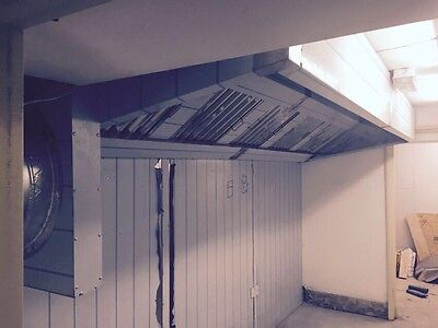COMMERCIAL KITCHEN CANOPY 3.5m