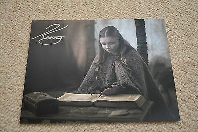 KERRY INGRAM signed Autogramm 20x25 cm In Person GAME OF THRONES