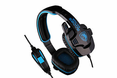 Stereo 7.1 Surround Headset Headband Gaming Headset With Mic For SADES I6