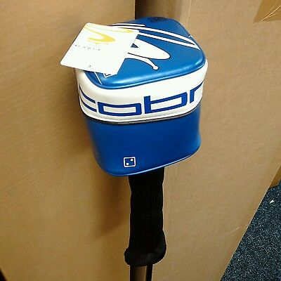 Cobra Cube Driver Headcover Blue New