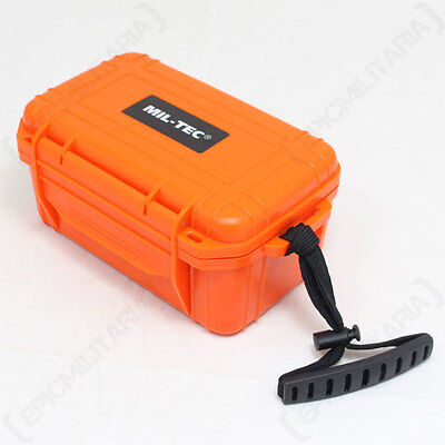 CAMPING FIRST AID KIT - ORANGE - Car Travel Health Bag Box Emergency Medical