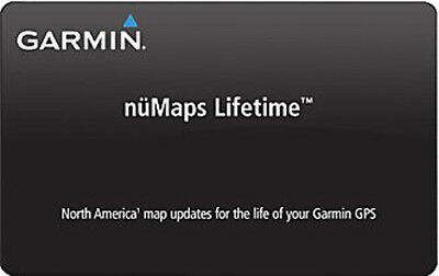 Garmin NuMapLifetime-Froogle Lifetime Map Update Card North America 010-11269-00