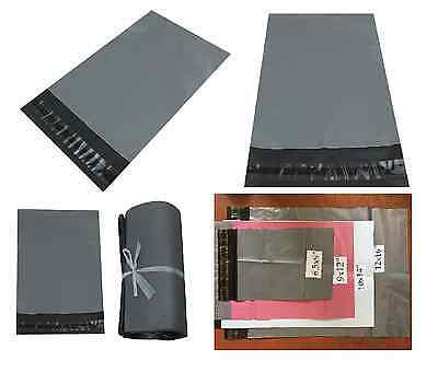 Mail Postal Bags Strong Grey Mailing Post Poly Postage Self Seal All Sizes Cheap