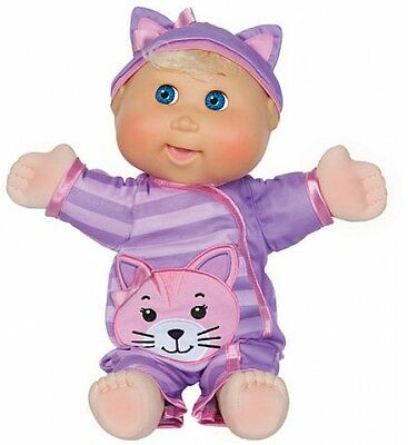 Cabbage Patch Kids Baby So Real 14 Inch Doll-Blonde Toy Kids Pretend Mommy New!!