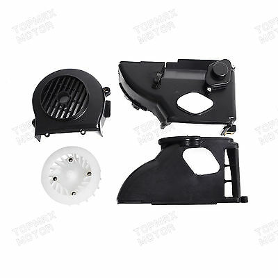 Complete Air Shroud Assembly w/fan for GY6 50cc Engine ATV,Buggy's,Scooter