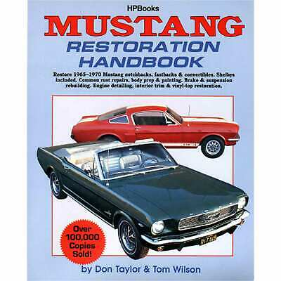HP Books HP029 Reference Book MUSTANG RESTORATION
