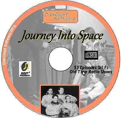 Journey Into Space OTR  53 episodes Old Time Radio Shows MP3 CD Science Fiction