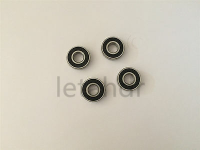 5/10/20pcs Rubber Sealed Ball Bearing 684-2RS To 689-2RS Deep Groove Bearings