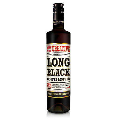 Creative Long Black Coffee Liqueur 700mL bottle Coffee Liqueurs