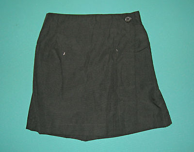NEW Girls school uniform Skort Black size 5 to 16