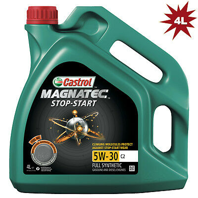Castrol Magnatec Stop-Start 5W-30 C2 Fully Synthetic Engine Oil - 4 Litre