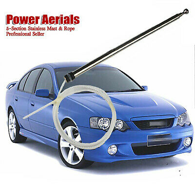 Mast & Rope Auto Antenna Aerial Replacement For Landcruiser 100 105 Series 98-08