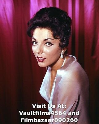 "JOAN COLLINS - 10"" x 8"" Random Colour photograph 1959  #2192"