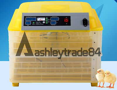 Update 96 Eggs Incubator Alarm Function Hatching One Incubator 220V For Poultry