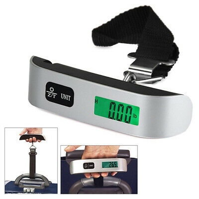 50kg/10g Weight LCD Display Portable Electronic Travel Hanging Luggage Scale HOT