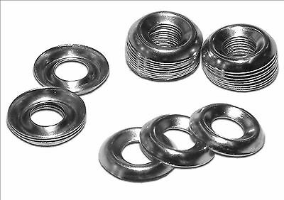 A2 Stainless Steel Cup Washers No 6, 8, 10, 12 For Countersink Screws Bolts