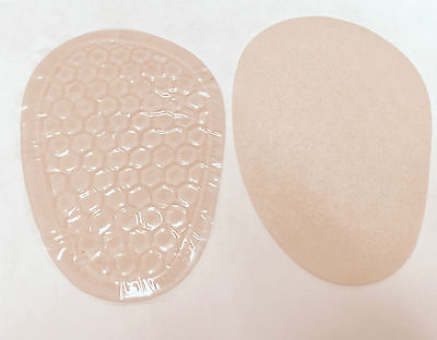Gel Ball of Foot Pads Honeycomb Metatarsal Gel Pad Soft Comfort Adhesive Pair