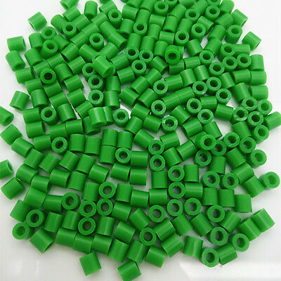 New 5mm 250 pcs PP HAMA/PERLER BEADS for Child Gift GREAT Kids Great Fun green