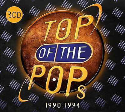 TOP OF THE POPS 1990-1994 3CD SET - VARIOUS ARTISTS (September 2nd 2016)