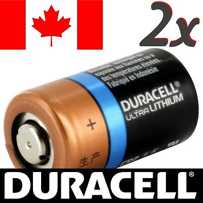 2 Pcs CR2 Lithium Battery Duracell Ultra Power Photo Batteries.Exp:2024