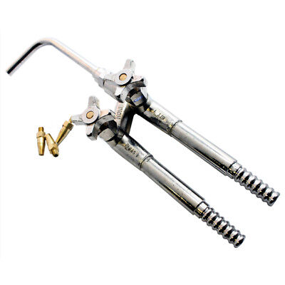 """STANDARD JEWELERS """"HOKE"""" TORCH FOR NATURAL GAS & OXYGEN with 3 TIPS"""