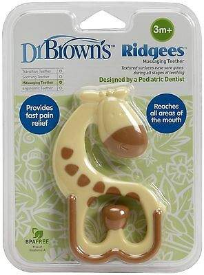Dr. Brown's Ridgees™ Giraffe Teether 3m+