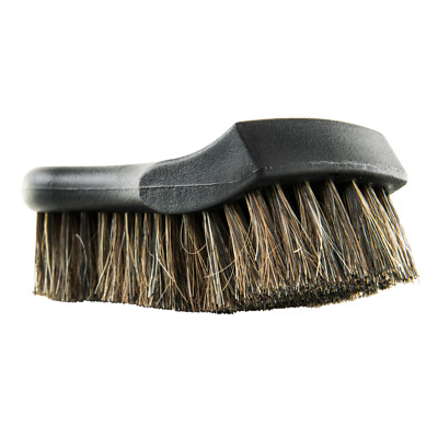 Leather Carpet Furniture Shoe Cleaning Upholstery Soft Horse Hair Brush
