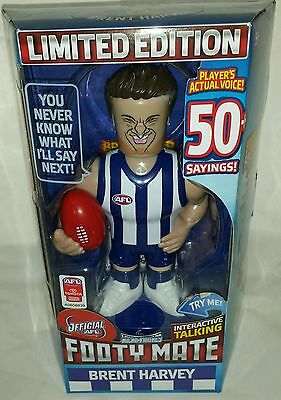 2016 AFL Micro Figures - TALKING FOOTY MATE - BRENT HARVEY NORTH MELBOURNE ROOS