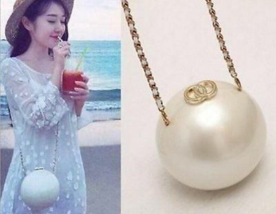 2016 Fashion Pearl Evening Handbags Wedding Bridal Bags Women Prom Party Purses