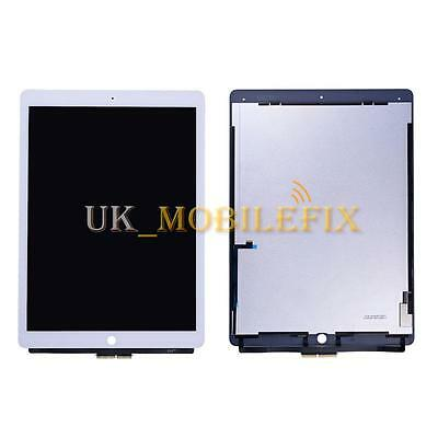 UK White LCD Screen + Touch Digitizer Assembly Replacement For iPad Pro 12.9''