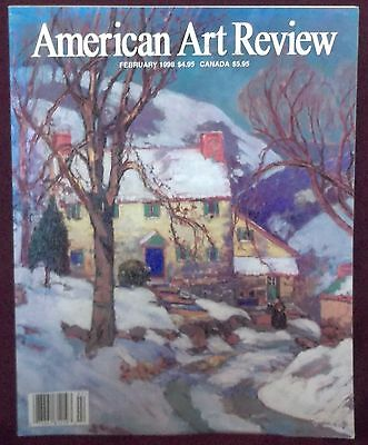 American Art Review Magazine February 1998 California 30's & 40's Winslow Homer