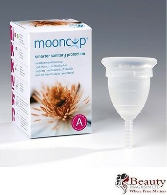 Mooncup Reuseable Menstrual Cup SIZE A Over 30s Healthy Alternative to Tampons