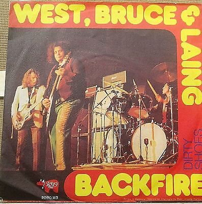 "# West Bruce & Laing BACKFIRE Germany'73 (EX) 7""-S00153"