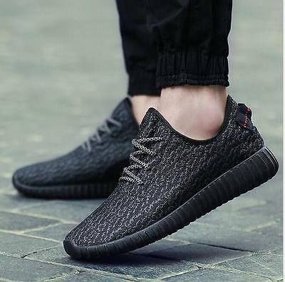 Sports Mens Yeezy Boost Trainers Fitness Gym Sports Running Shock Shoes