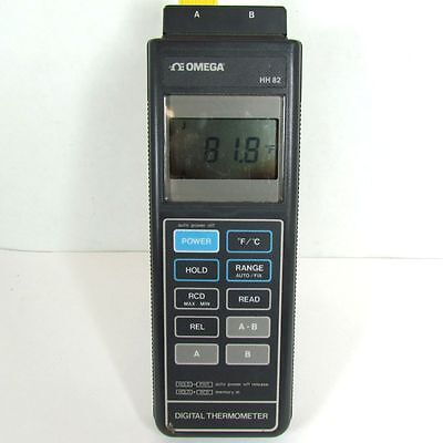 Omega Engineering HH-82 Digital Thermometer