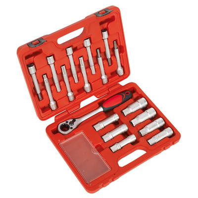 BRAND NEW! SHOCK ABSORBER STRUT TOOL KIT 18pce WITH RATCHET AND SOCKETS