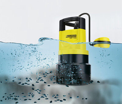 Karcher SDP7000 Automatic Submersible Dirty & Clean Water Pump NEW & VAT RECEIPT