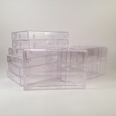 Lot of 10 Clear Audio Cassette Cases Jewel Case High Quality NEW Replacement